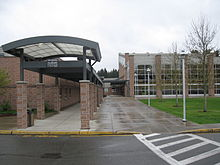 Meadowdale High School entrance.jpg