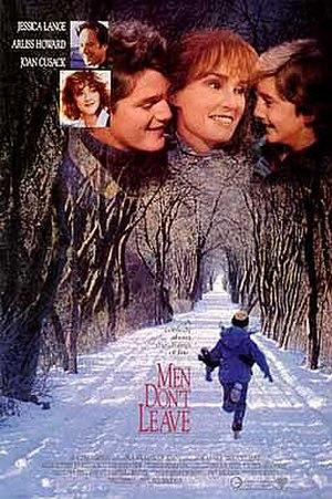 Men Don't Leave - Image: Men Don't Leave (film poster)