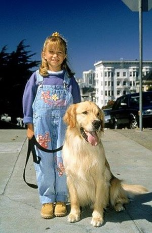 "Air Buddy (dog) - Mary-Kate Olsen according to IMDB with Air Bud as ""Comet"""