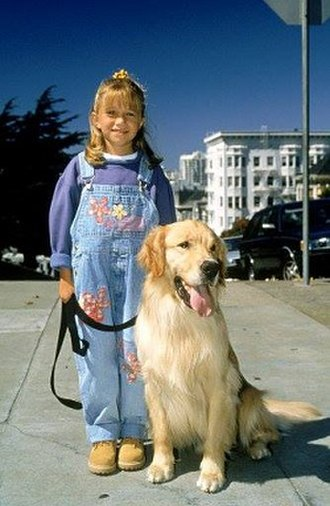 Michelle Tanner - Michelle with Comet