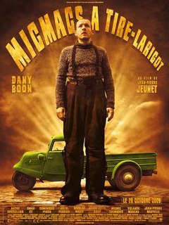 <i>Micmacs</i> (film) 2009 French film directed by Jean-Pierre Jeunet