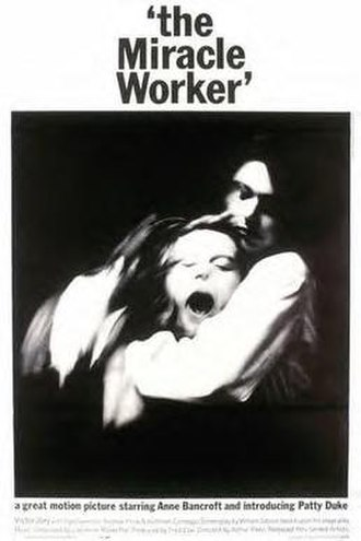 The Miracle Worker (1962 film) - Original poster