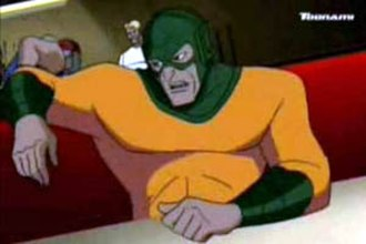 Mirror Master - Mirror Master in Justice League Unlimited.