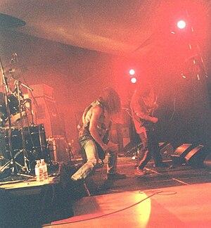 Australian heavy metal - Misery at Metal for the Brain