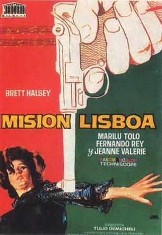 Espionage in Lisbon - Image: Mision lisboa movie poster
