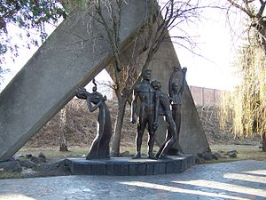 Rivne - Monument to the Victims of Fascism