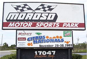Palm Beach International Raceway - Moroso Motorsports Park in 2003