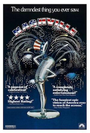 Nashville (film) - Theatrical release poster