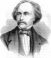 Nathaniel Hawthorne illustrated in an 1870 publication