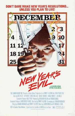 New Year's Evil (film) - Film poster