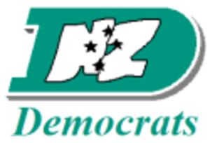 New Zealand Democratic Party for Social Credit - Image: New Zealand Democratic Party Logo