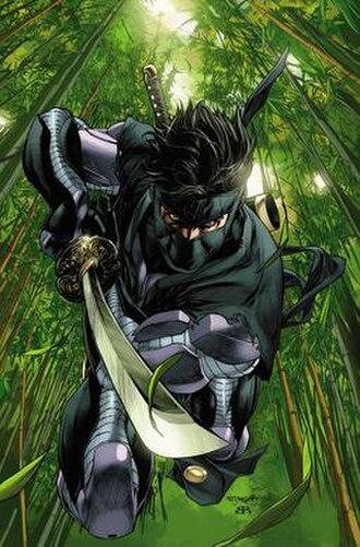 Ninjak - Image: Ninjak by Mico Suayan