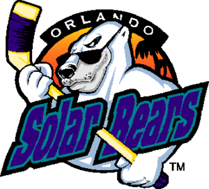 Orlando Solar Bears (IHL) - Image: Orlando Solar Bears