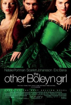 The Other Boleyn Girl (2008 film) - Promotional film poster