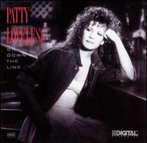 On Down the Line (album) - Image: Patty Loveless On Downthe Line