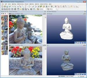PhotoModeler - Image: Photo Modeler Scanner 2011 Screen Shot