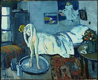 <i>The Blue Room</i> (Picasso) Painting by Pablo Picasso