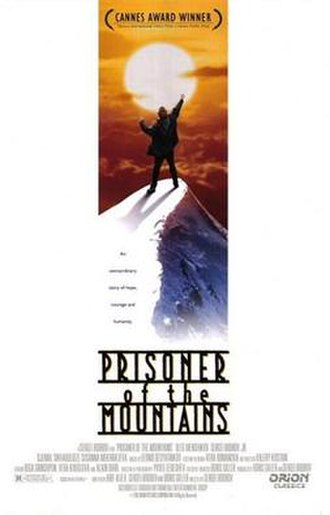 Prisoner of the Mountains - Theatrical release poster