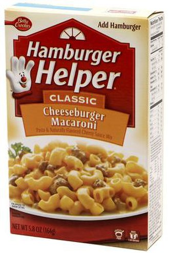 Hamburger Helper - Cheeseburger Macaroni Hamburger Helper