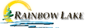 Rainbow Lake, Alberta - Image: Rainbow Lake logo
