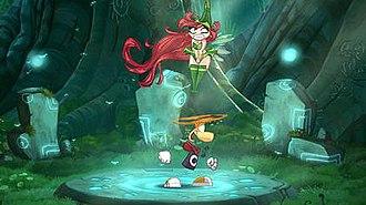 Rayman Origins - Rayman and Betilla