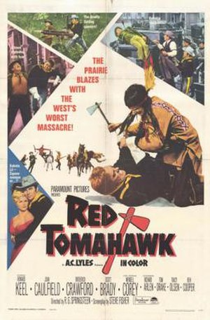 Red Tomahawk - Theatrical release poster