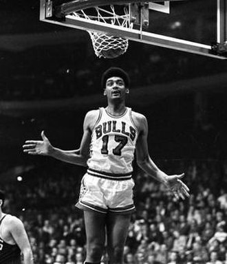 Reggie Harding - Harding during his tenure with the Chicago Bulls, 1967.