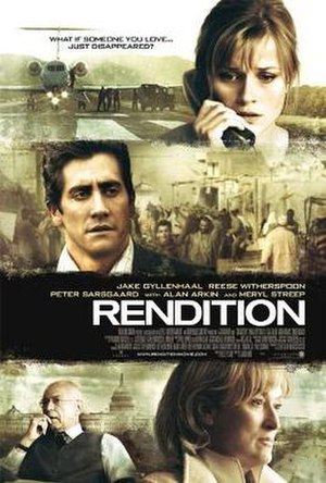 Rendition (film) - Image: Renditionposter
