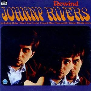 Rewind (Johnny Rivers album) - Image: Rewind 1967 Album Cover