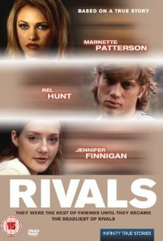 The Stalking of Laurie Show - DVD cover with the alternate title of Rivals