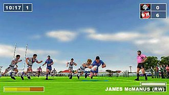 Rugby League Challenge - Image: Rugby League Challenge Screen 3