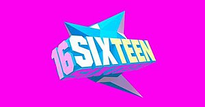 Sixteen (TV series) - JYP Sixteen Show Logo
