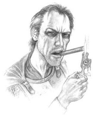 Sam Vimes - Sam Vimes as envisioned by Paul Kidby