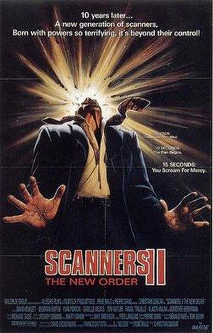 Scanners II: The New Order - Image: Scanners 2Poster