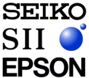 """Seiko Group - Seiko, SII and Epson logos. Three companies share """"Seiko"""" in their official names but have different corporate visual identities."""