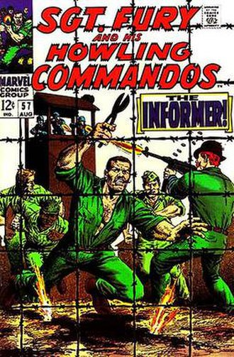 Sgt. Fury and his Howling Commandos - Image: Sgt Fury 57