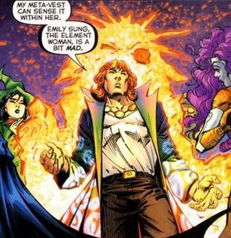 Shade, the Changing Man - Shade, the Changing Man as seen in Flashpoint. Art by Andy Kubert.