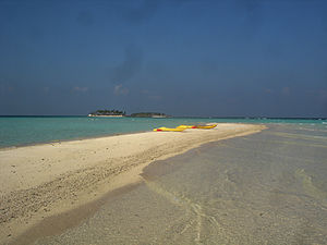 Alif Alif Atoll - An isolated spit in the middle of the Rasdhukuramathi Atoll