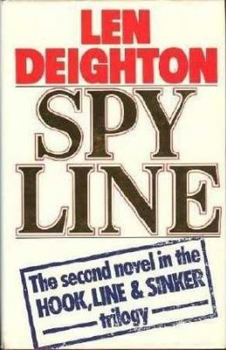 Spy Line - First edition cover (UK, Hutchinson)