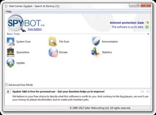 Spybot – Search & Destroy