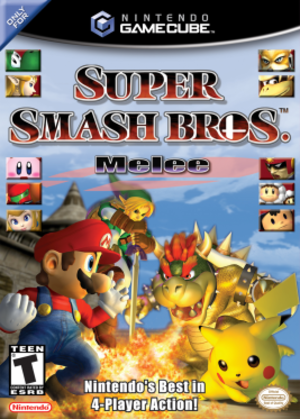 Super Smash Bros. Melee - North American box art