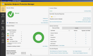 Symantec Endpoint Protection - Image: Symantec Endpoint Protection Screenshot