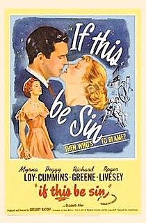 <i>That Dangerous Age</i> 1949 film by Gregory Ratoff