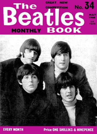 The Beatles Book - Image: The Beatles Book Monthly (representative sample)