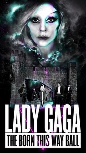 Born This Way Ball - Promotional poster for the tour