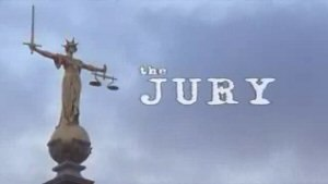The Jury (TV serial) - The Jury title card