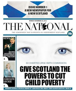 The National (Scotland) - First edition of The National, 24 November 2014
