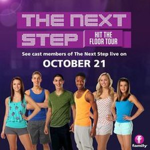 The Next Step (2013 TV series) - Image: The Next Step Hit The Floor Tour Promotional Poster