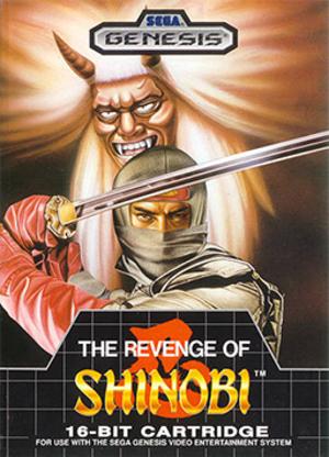 The Revenge of Shinobi - Sega Genesis cover