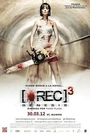REC 3: Genesis - Theatrical release poster